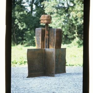 Dimension Mensch 1977 H.160cm Cor-ten-Stahl